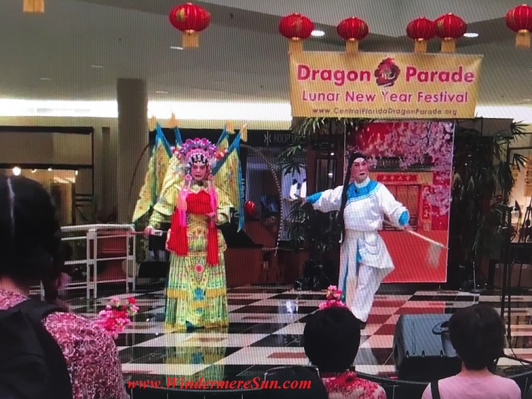Chinese opera during Lunar New Year celebration final