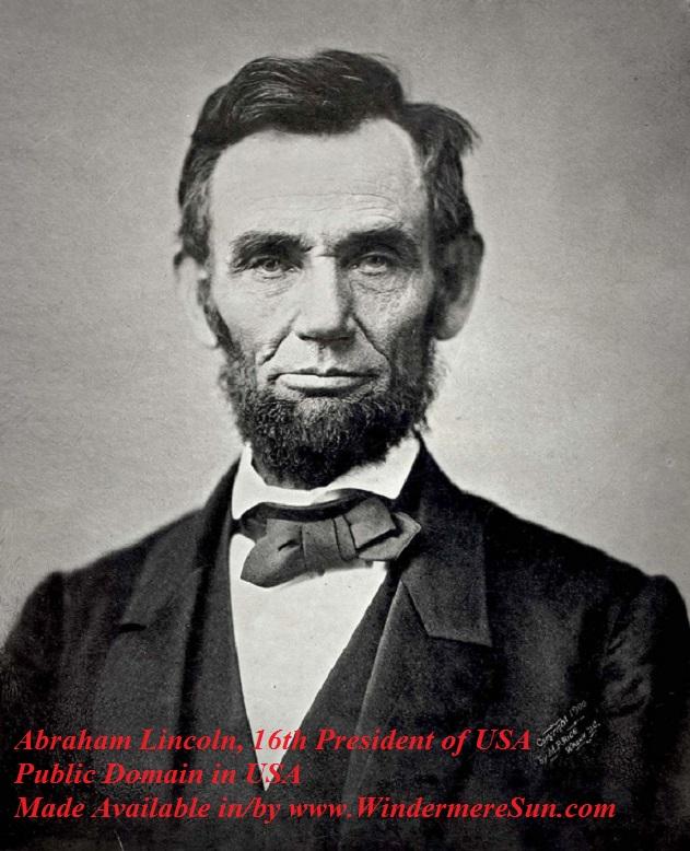 Egg Roll-Abraham_Lincoln_November_1863, 16th US Pres. pub do USA tag final