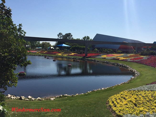 Epcot-flowers by lake1 final