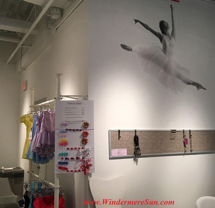 Orlando Ballet School South Campus reception area at 7988 Via Dellagio Way, Suite 204., Orlando, FL final
