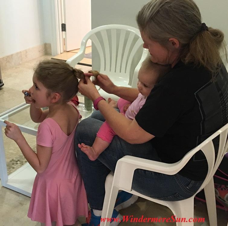 Orlando Ballet School South Campus students in waiting room 4 at 7988 Via Dellagio Way, Suite 204., Orlando, FL final