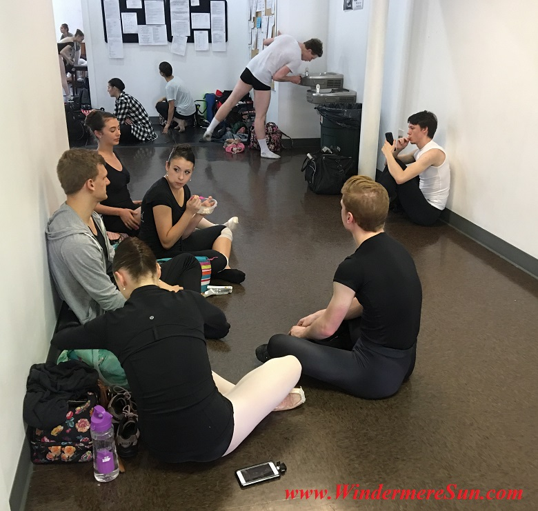 Orlando Ballet School-students of OBS during lunch time final