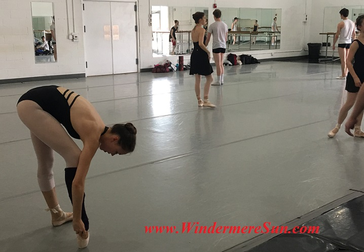 Orlando Ballet School-students of OBS getting ready 3 final