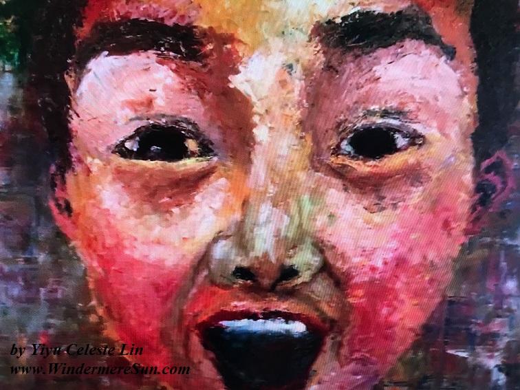 Art Show of Windermere Prep School- art work1 of Yiyu Celeste Lin final