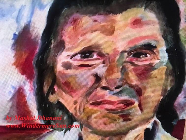 Art Show of Windermere Prep School- art work2 of Mashal Dhanani final