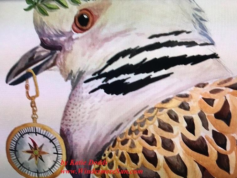 Art Show of Windermere Prep School- art work3 of Katie Dodds final