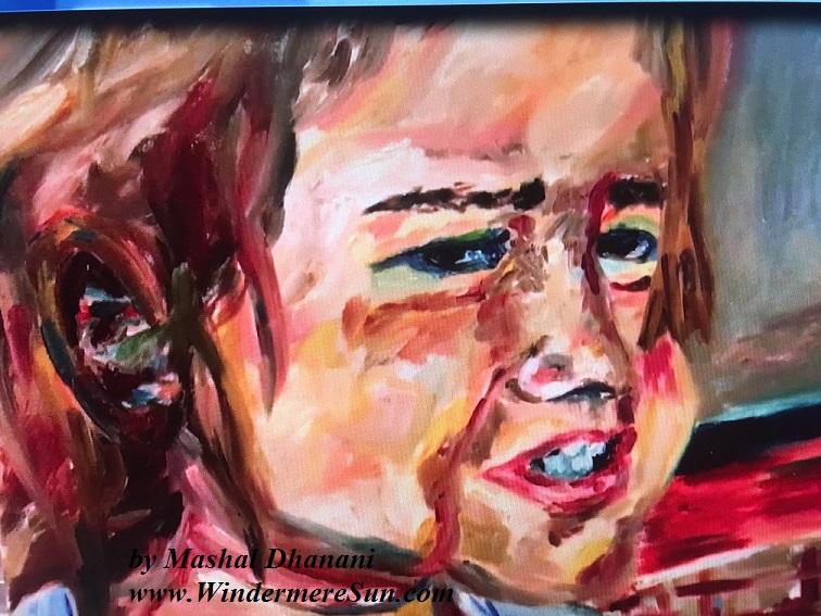 Art Show of Windermere Prep School- art work3 of Mashal Dhanani final