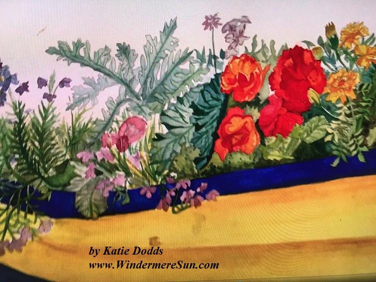 Art Show of Windermere Prep School- art work4 of Katie Dodds final
