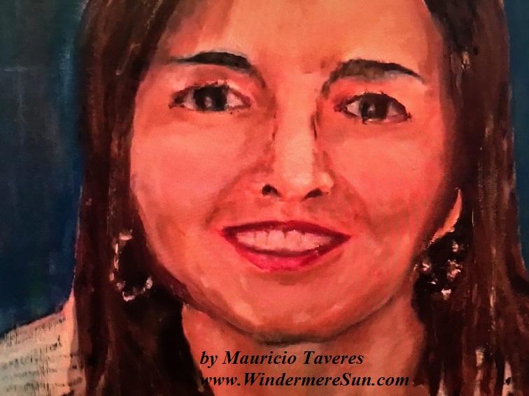 Art Show of Windermere Prep School- art work4 of Mauricio Taveres final