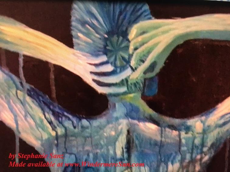 Art Show of Windermere Prep School- art work4 of Stephanie Sanz final