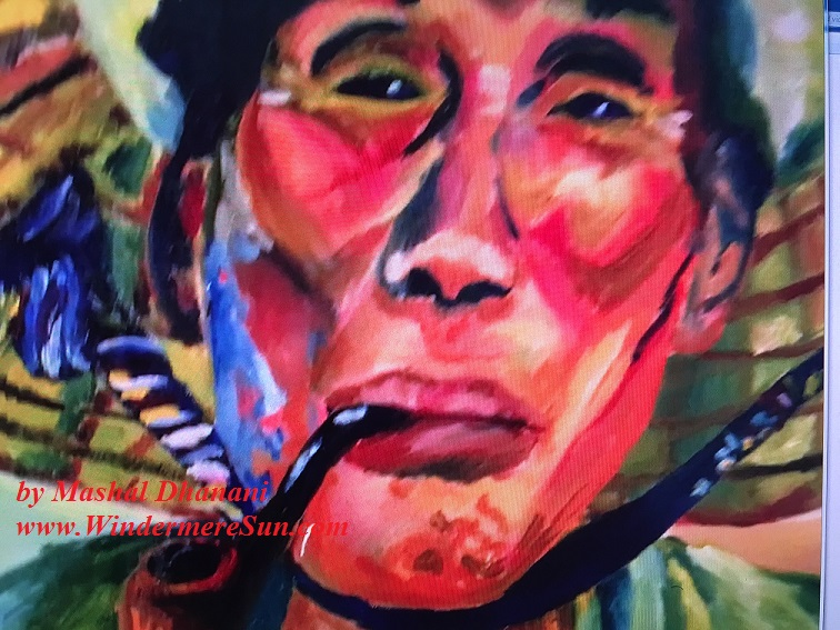 Art Show of Windermere Prep School- art works1 of Mashal Dhanani final