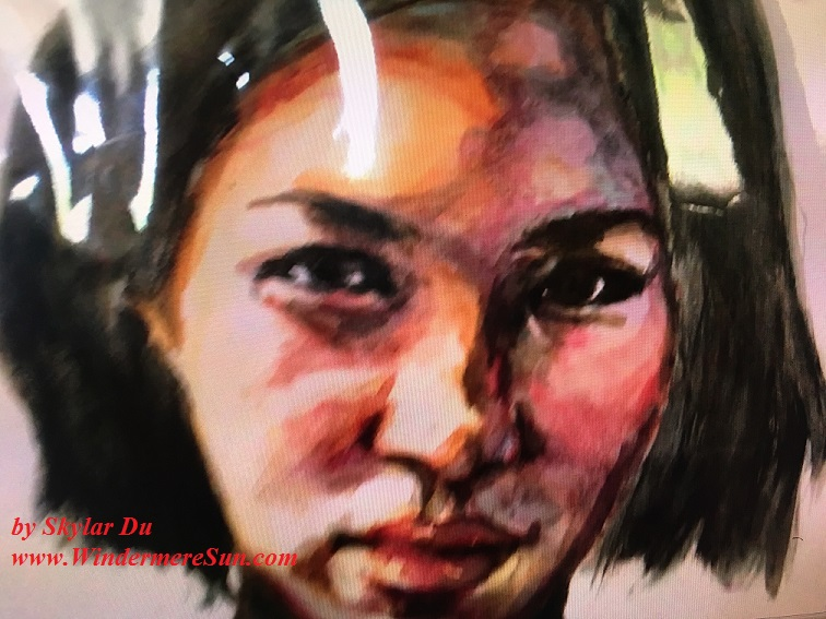 Art Show of Windermere Prep School- art works1 of Skylar Du final