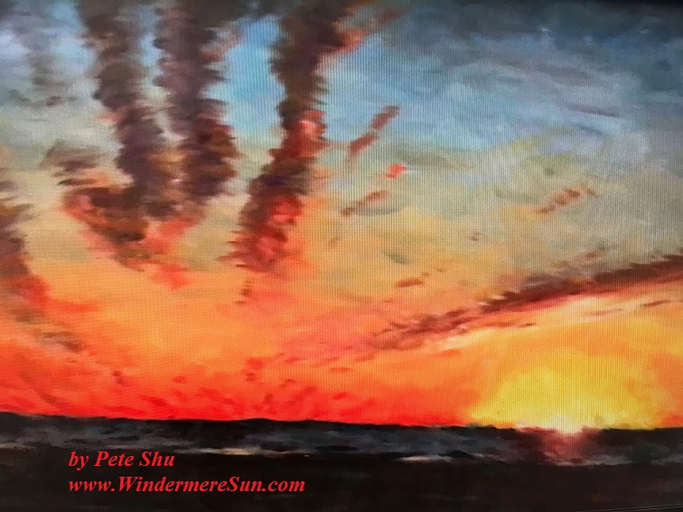 Art Show of Windermere Prep School- art works10 of Pete Shu final