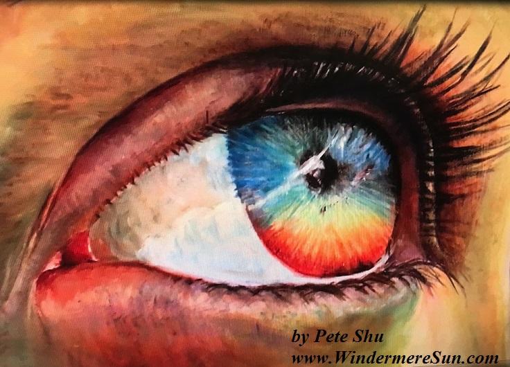 Art Show of Windermere Prep School- art works16 of Pete Shu final