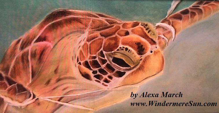 Art Show of Windermere Prep School- art works1a of Alexa march final