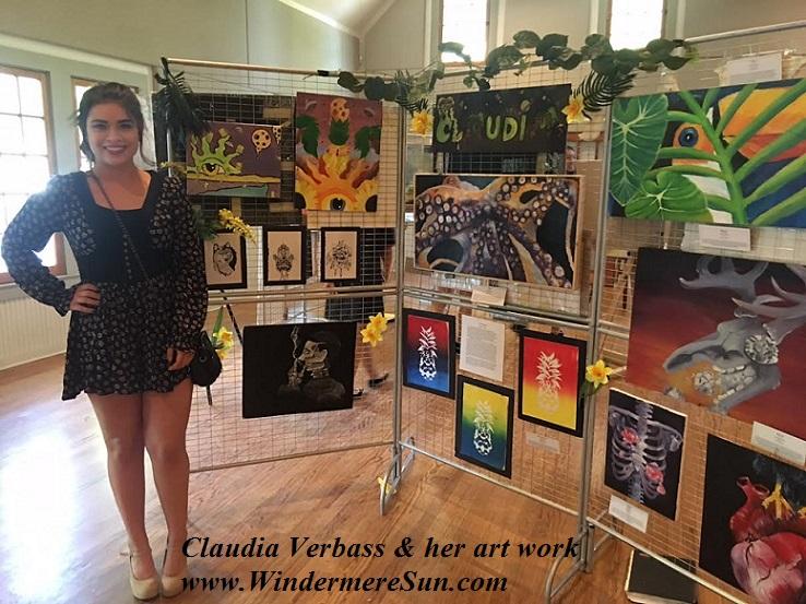 Art Show of Windermere Prep School- student artist Claudia Verbass 1 final