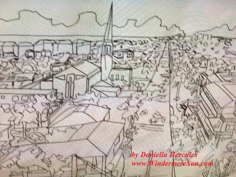 Art Show of Winderpere Prep School 2016-beautiful art works1 of Daniella Hercules final