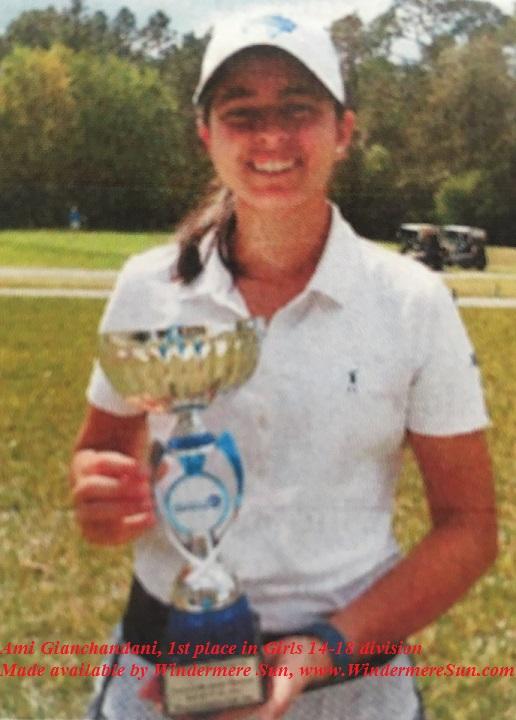 Hurricane Junior Golf Tour-Ami Gianchandani final