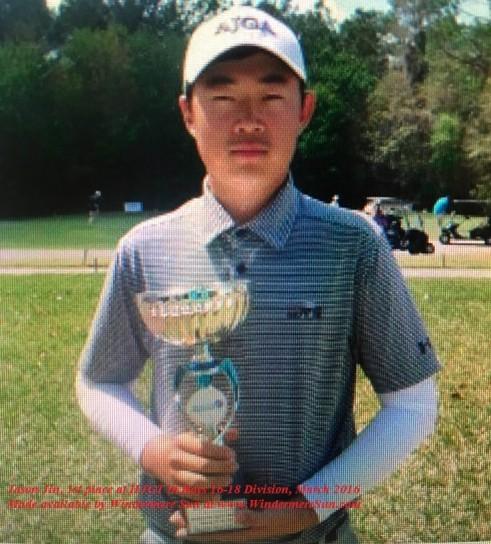 Hurricane Junior Golf Tour-Jason Jin final