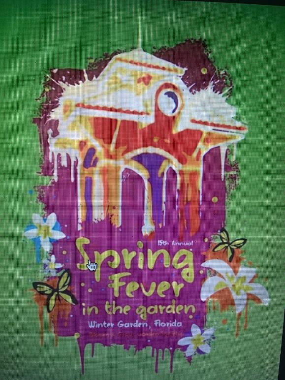 Spring Fever In The Garden logo final