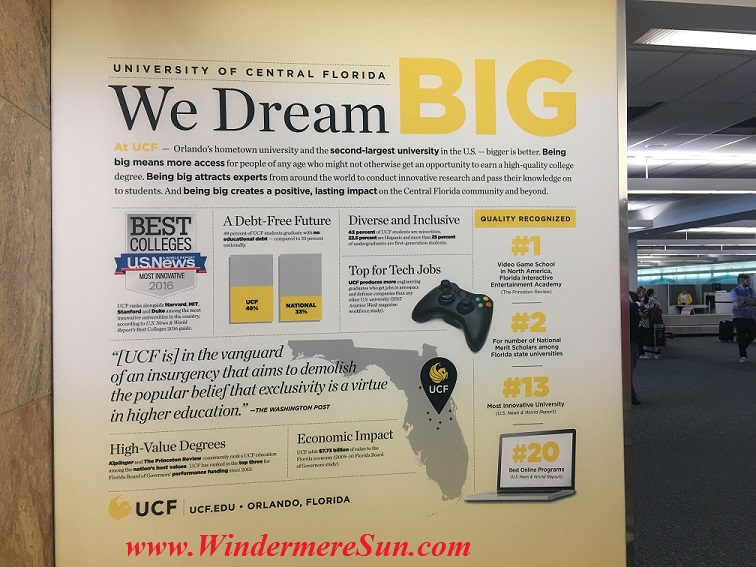 Orlando International Airport-UCF-We Dream Big ad final