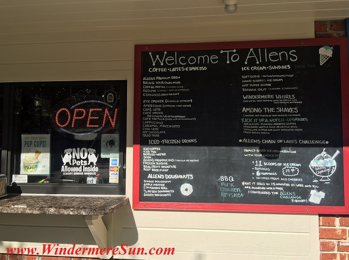Allen's Creamery & Coffee House exterior6 menu1 final