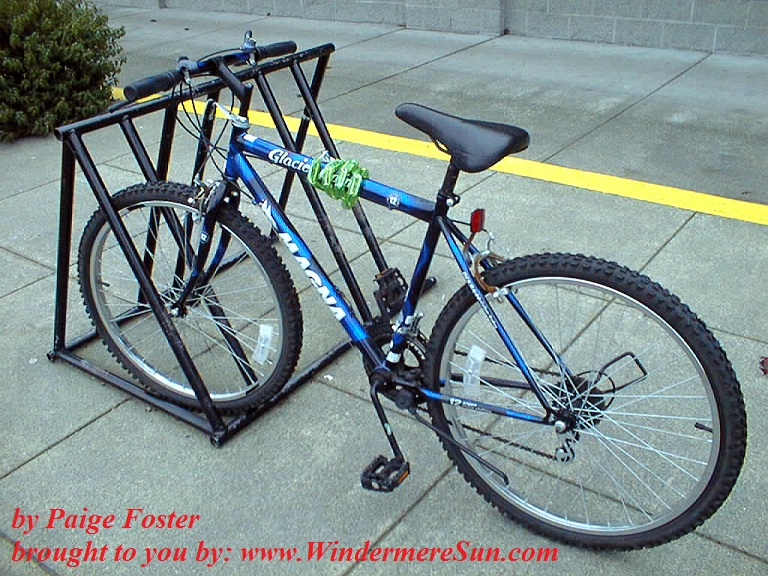 bike-on-a-rack-1468792, freeimages, by Paige Foster final