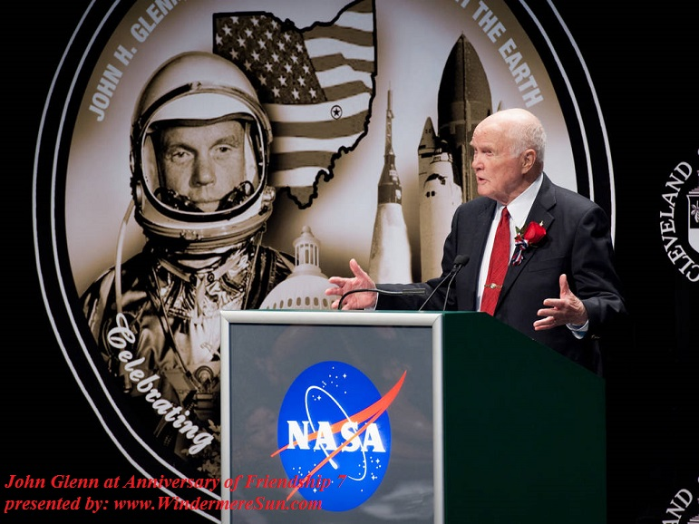 John Glenn at Anniversary of Friendship 7 final
