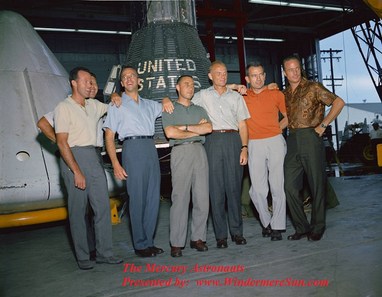 The Mercury Astronauts final