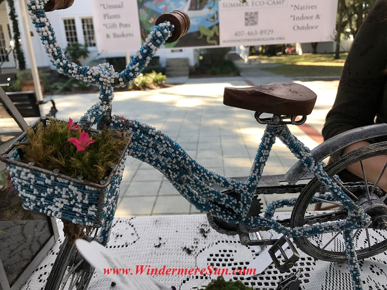 Beaded bicycle planter final