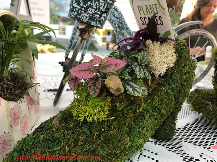 Mossy high heel shoe planter final