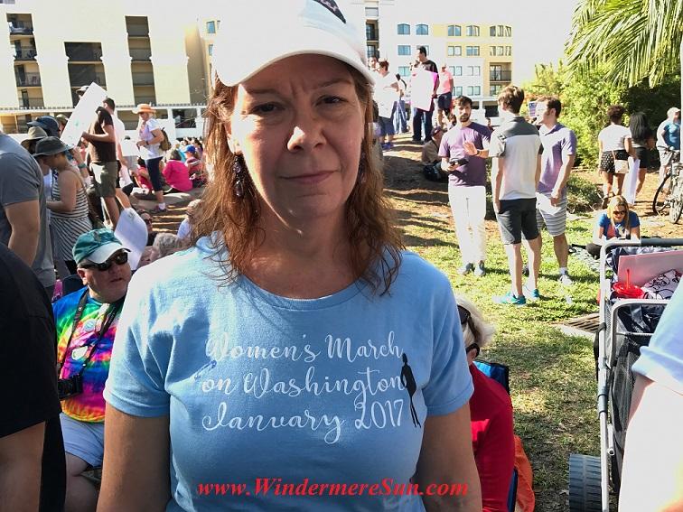 Women's March on Washington on Jan. 2017 sign final