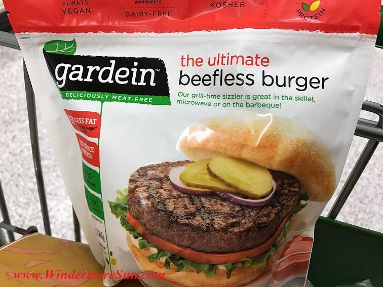 Gardein's meatless burger final