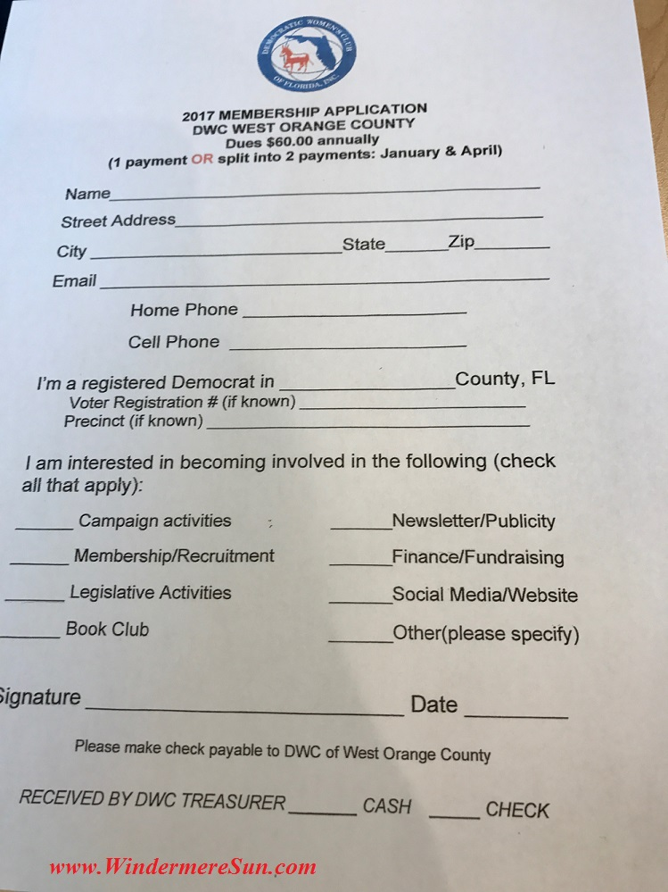 Membership Application final