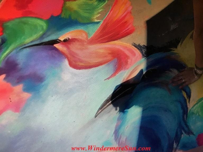 Artistic bird art work final