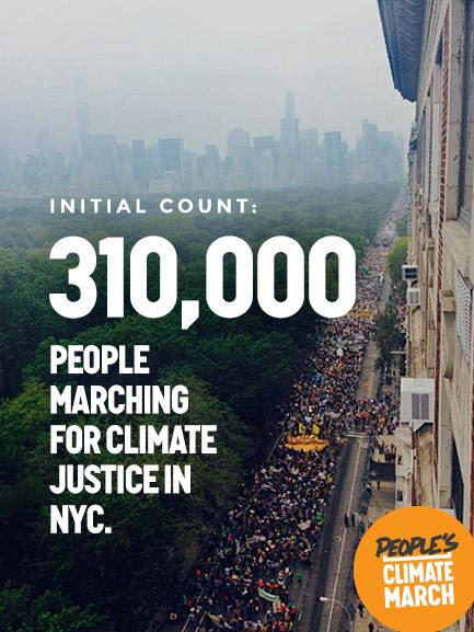 Climate March of New York City 2014