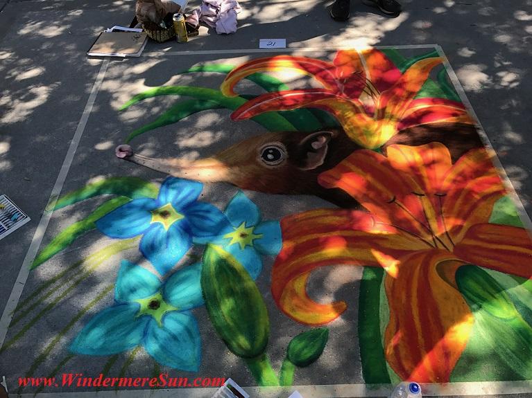 Hidden behind lillies #21 art workjpg final