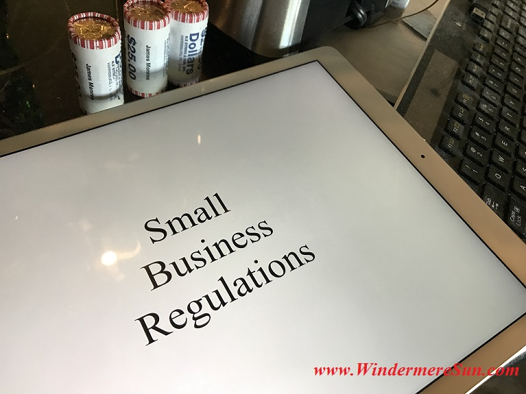 Small Business Regulations final