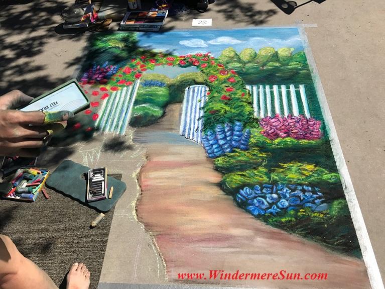 flower garden art work final