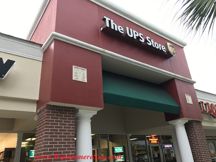 UPS Store front at Summerport final