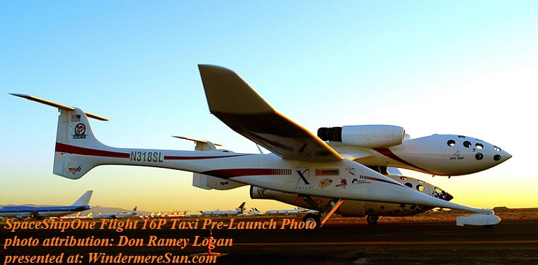 SpaceShipOne Flight 16P taxi_pre_launch_photo, Attribtuion Don Ramey Logan final