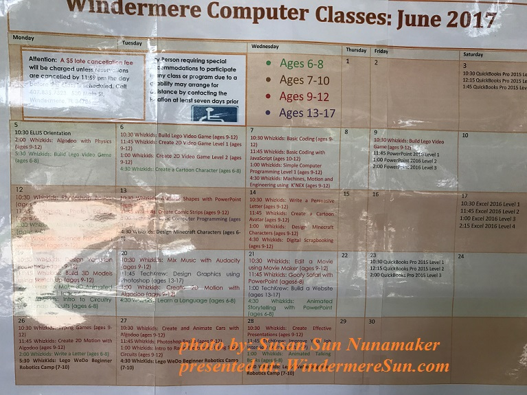 Windermere Computer Classes final