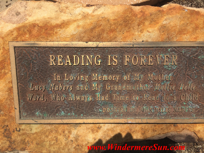 Windermere Library Reading Is Forever final