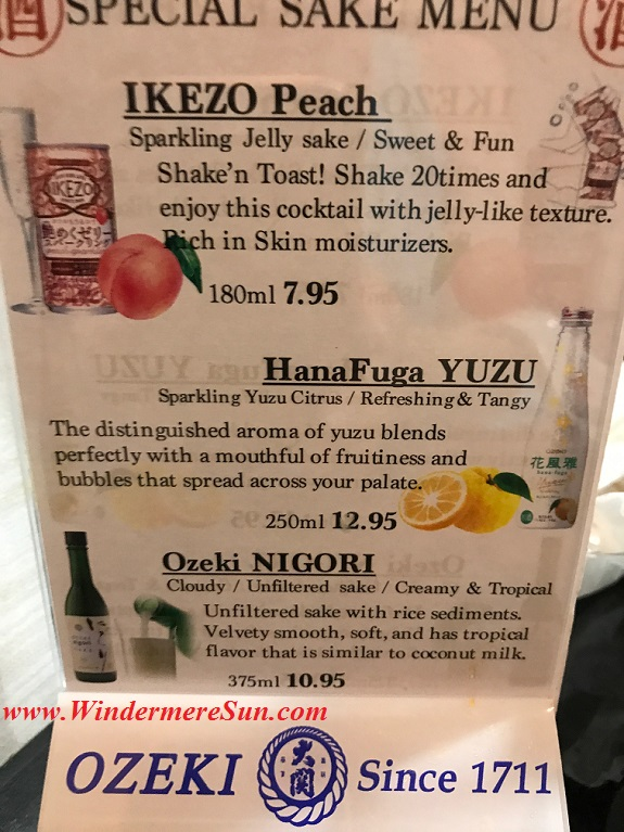 Saki menu final