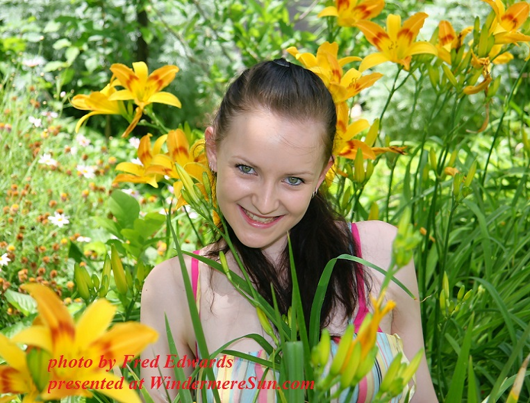girl-in-flowers-1434609, by Fred Edwards final