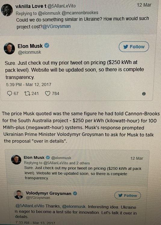 tweets for Elon from Ukrain final