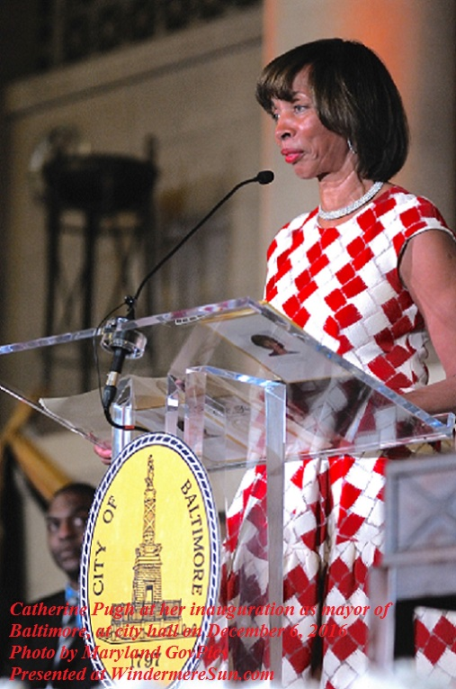 Catherine_Pugh_at_her_inauguration_as_mayor_Dec_2016, photo by Maryland GovPics final