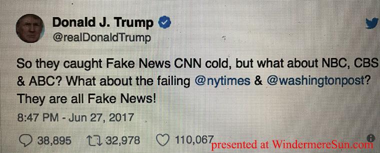 Trump Tweets Fake News final