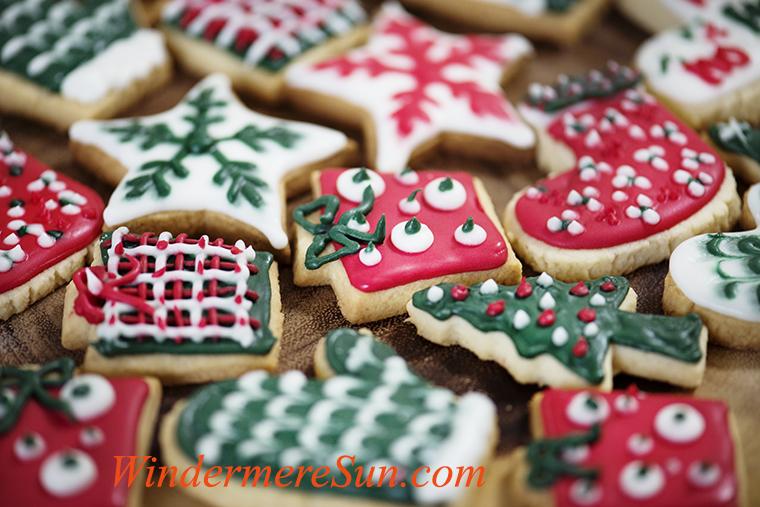 Christmas theme cookies