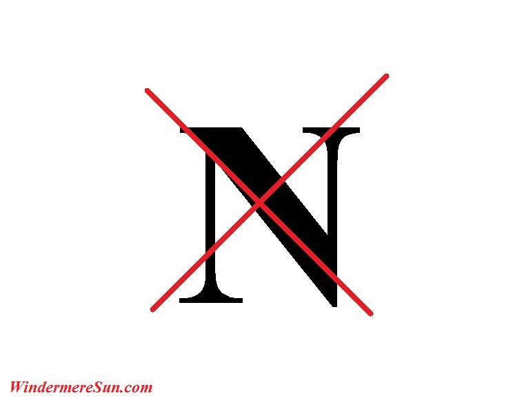 No N final